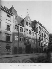 Linprun's House at Burgstraße 5, Munich